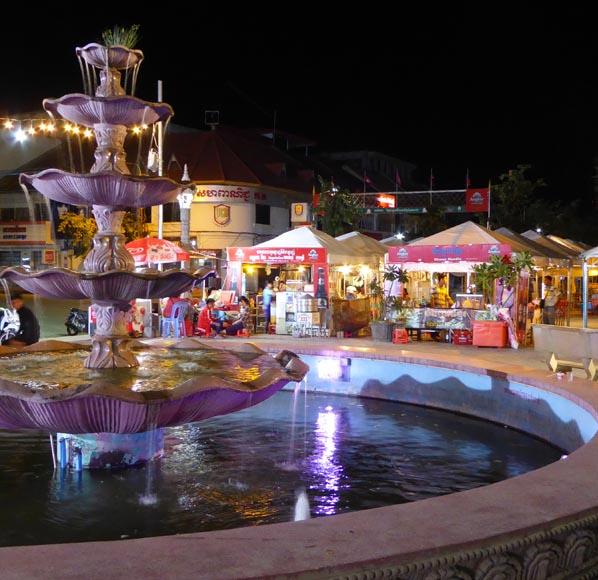 Battambang Night Market